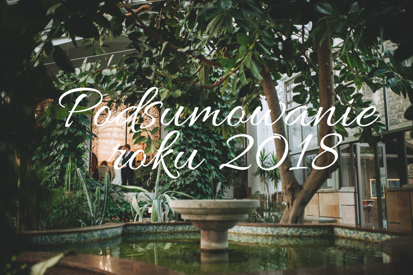 Młoda para w oranżerii na Zamku w Mosznej- Podsumowanie roku 2018- Meivy.pl